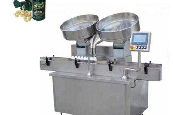 Automatische Pillen-Kapseltabletten aus Edelstahl, die die Füllmaschine zählen