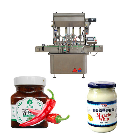 Saucenpastenfüllmaschine