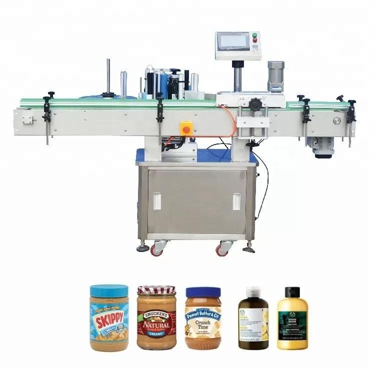 Vertikale selbstklebende Flaschenetikettiermaschine für die Medizin